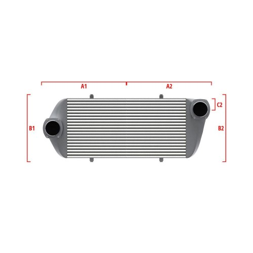 Universal Competition Intercooler 9 03 010 034