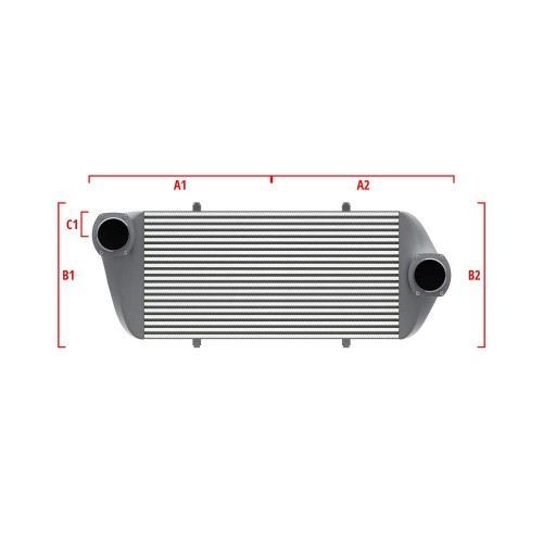Universal Competition Intercooler 9 03 010 032