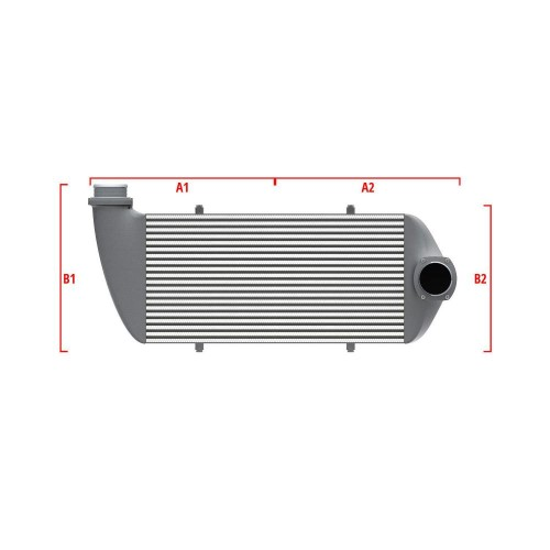 Universal Competition Intercooler 9 01 010 007