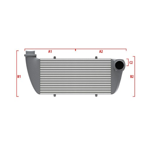 Universal Competition Intercooler 9 01 010 006