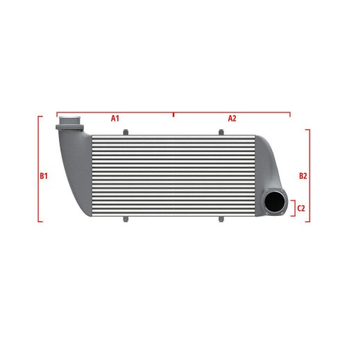 Universal Competition Intercooler 9 01 010 008