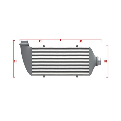 Universal Competition Intercooler 9 01 002 004