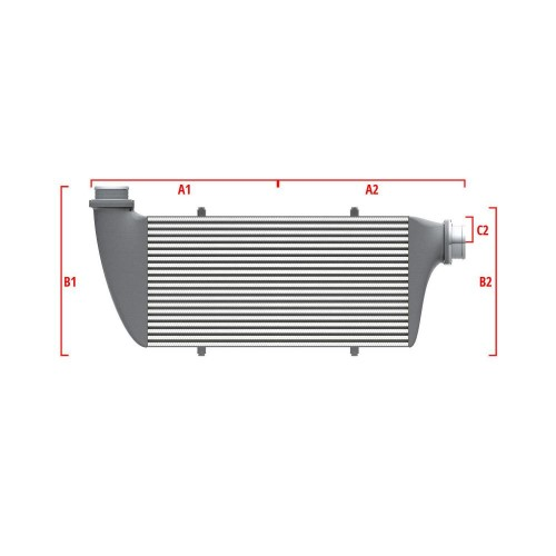 Universal Competition Intercooler 9 01 002 003