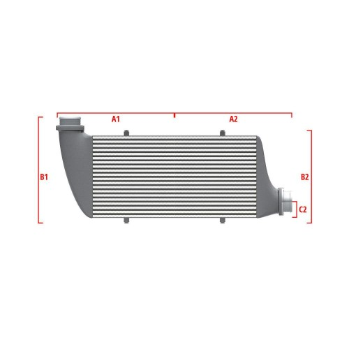 Universal Competition Intercooler 9 01 002 005