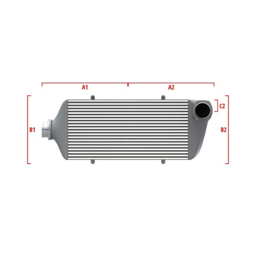 Universal Competition Intercooler 9 03 010 023