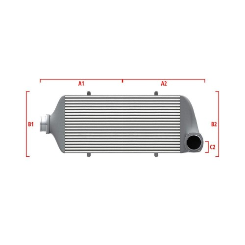 Universal Competition Intercooler 9 03 010 025