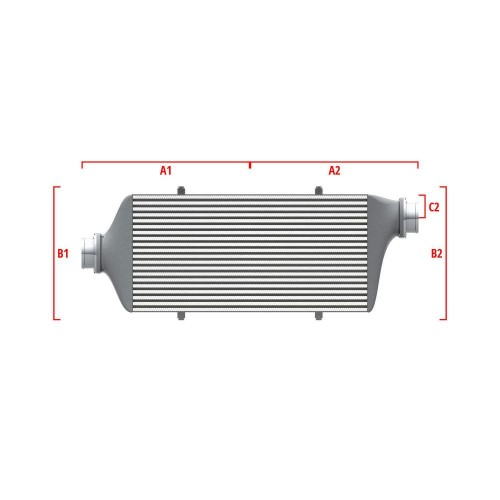 Universal Competition Intercooler 9 03 010 021