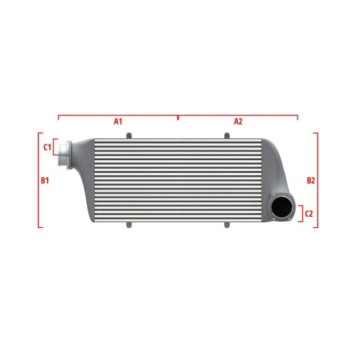 Universal Competition Intercooler 9 03 010 019