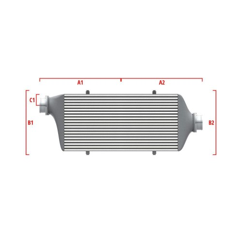 Universal Competition Intercooler 9 01 010 016