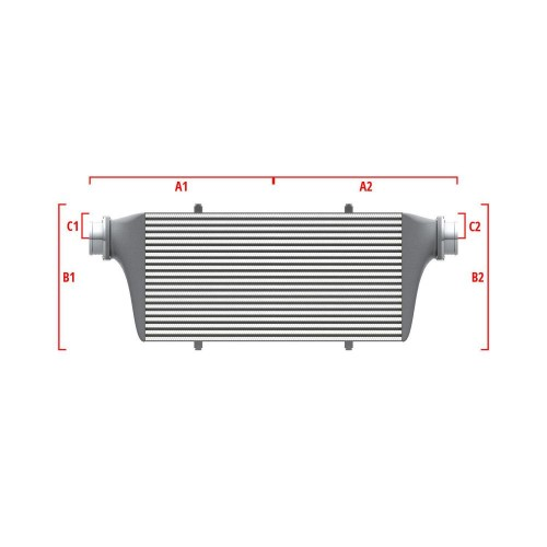 Universal Competition Intercooler 9 01 010 014