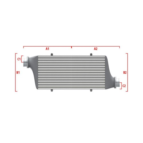 Universal Competition Intercooler 9 01 010 015