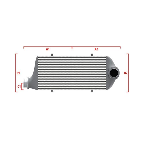 Universal Competition Intercooler 9 03 010 029
