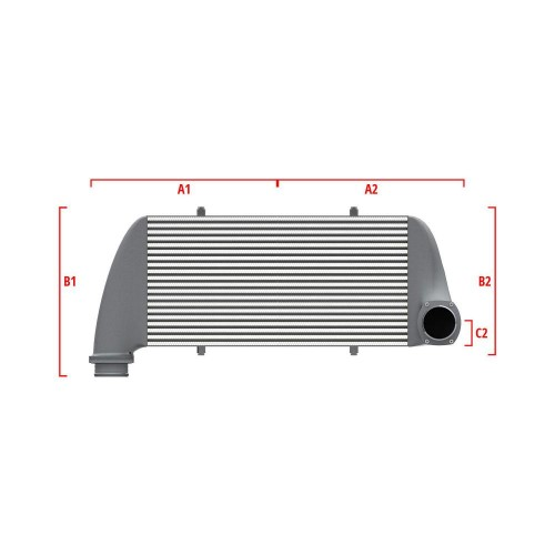 Universal Competition Intercooler 9 01 010 012