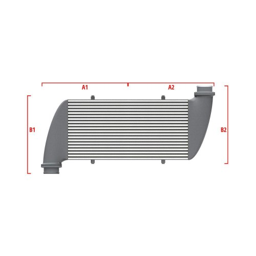Universal Competition Intercooler 9 01 010 009