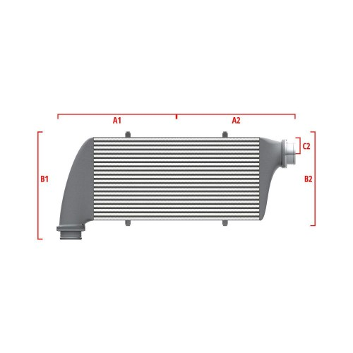 Universal Competition Intercooler 9 03 010 026