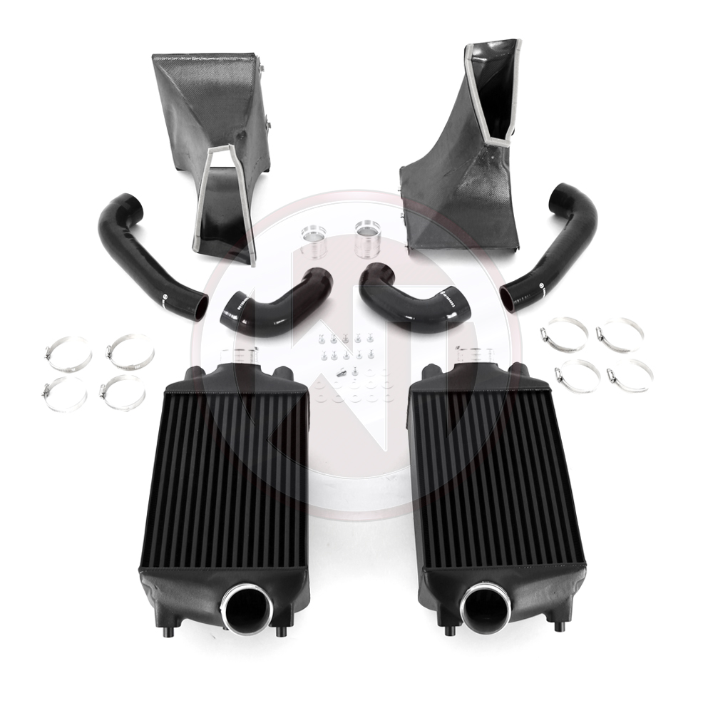 Porsche 991 Turbo(S) Competition Intercooler & Y-Pipe Kit