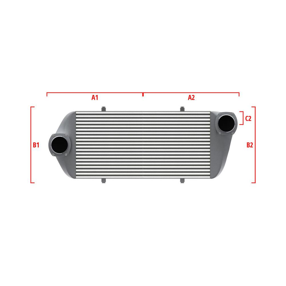Universal Performance Intercooler 9 07 008 034