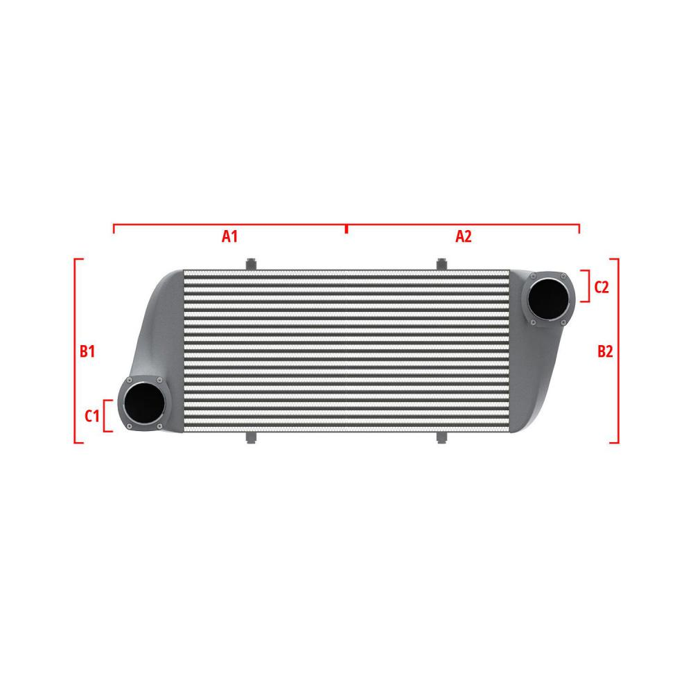 Universal Competition Intercooler 9 08 010 036