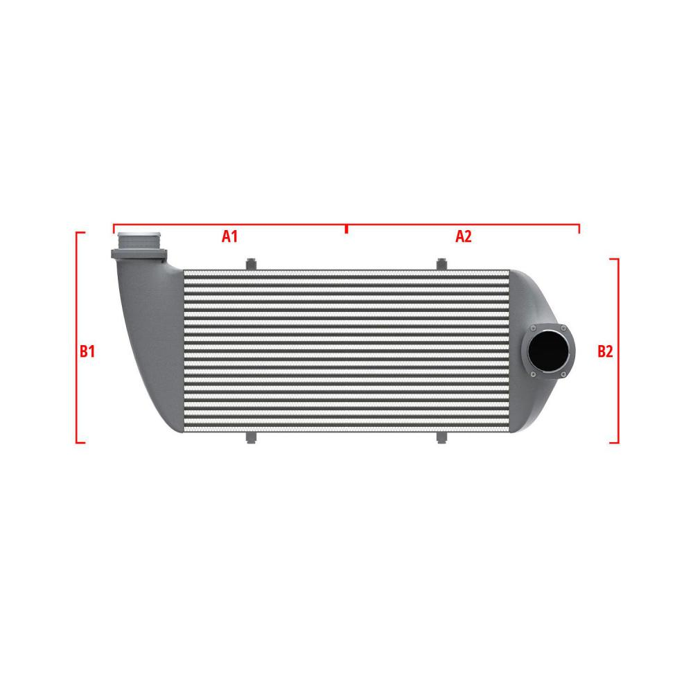 Universal Performance Intercooler 9 02 003 007