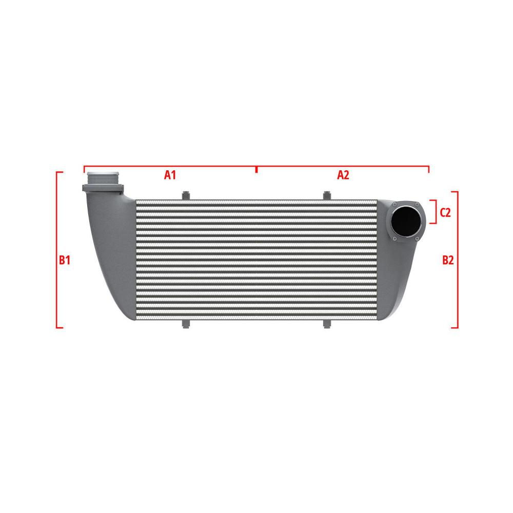 Universal Competition Intercooler 9 05 010 006