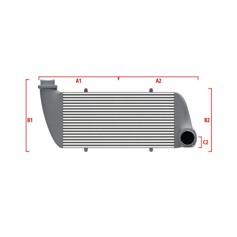 Universal Performance Intercooler 9 05 007 008