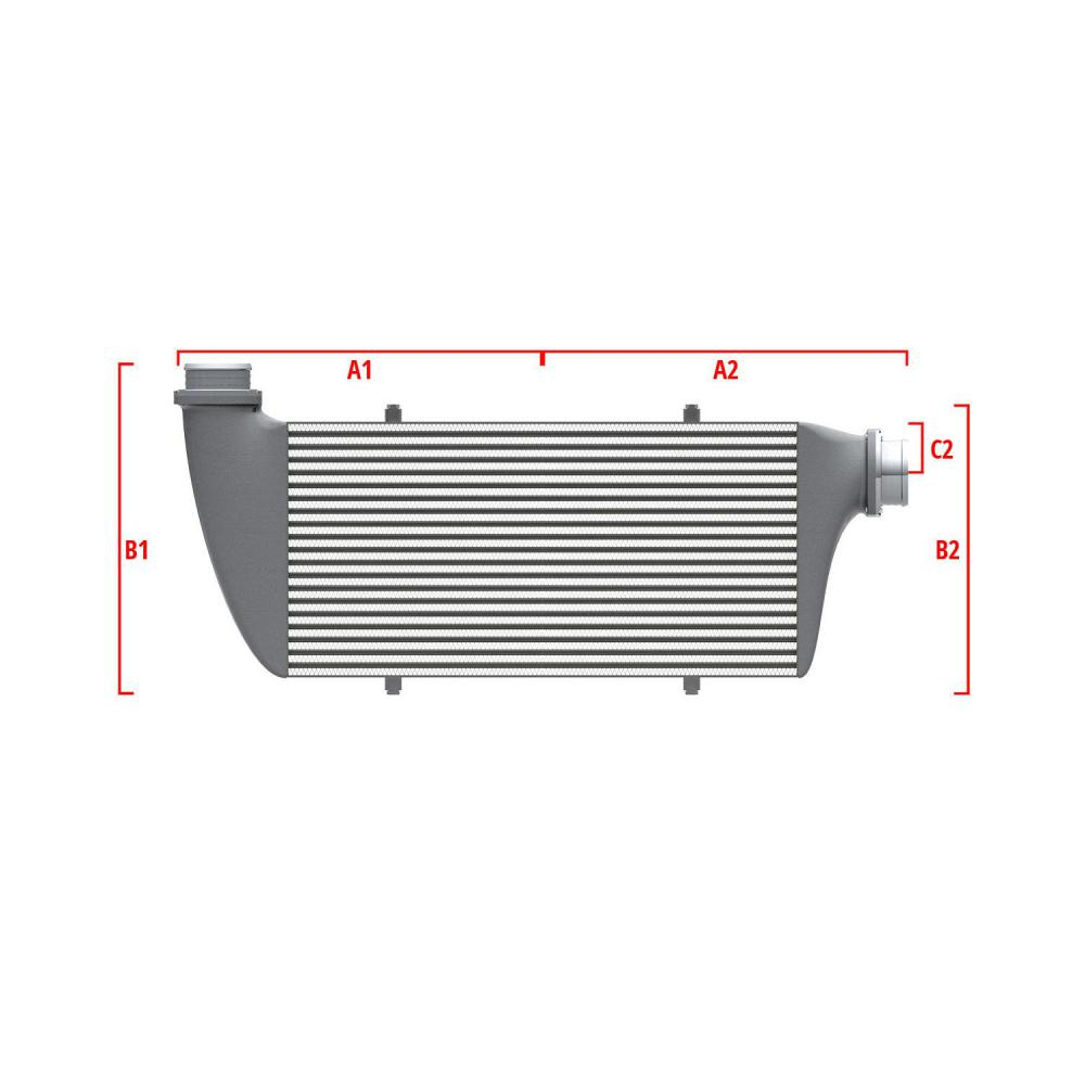 Universal Performance Intercooler 9 07 002 003