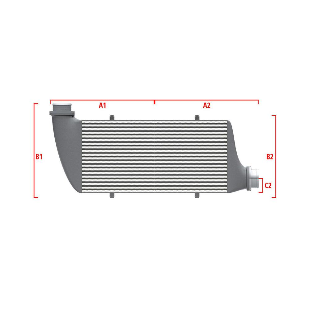 Universal Performance Intercooler 9 02 010 005