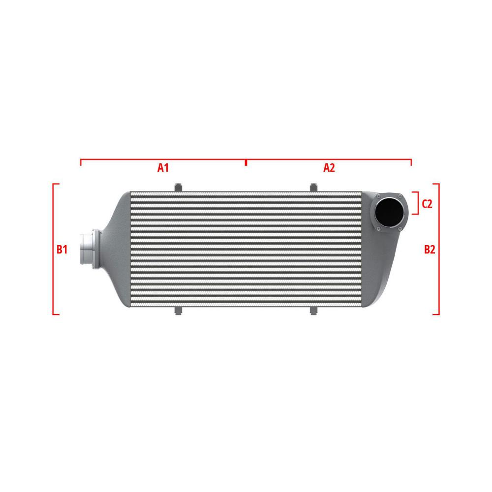 Universal Competition Intercooler 9 02 007 023