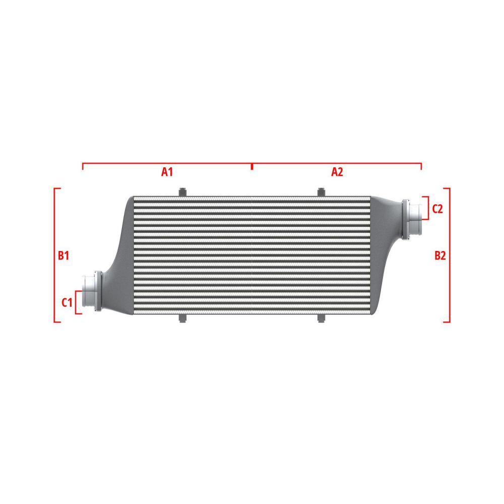 Universal Performance Intercooler 9 02 004 027