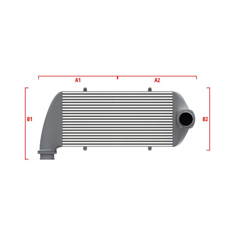 Universal Performance Intercooler 9 02 004 011