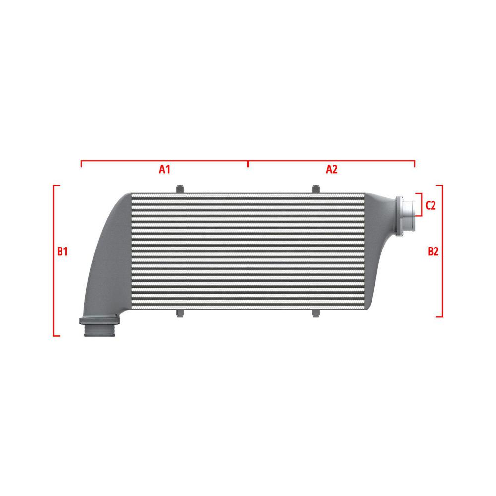 Universal Performance Intercooler 9 07 007 026